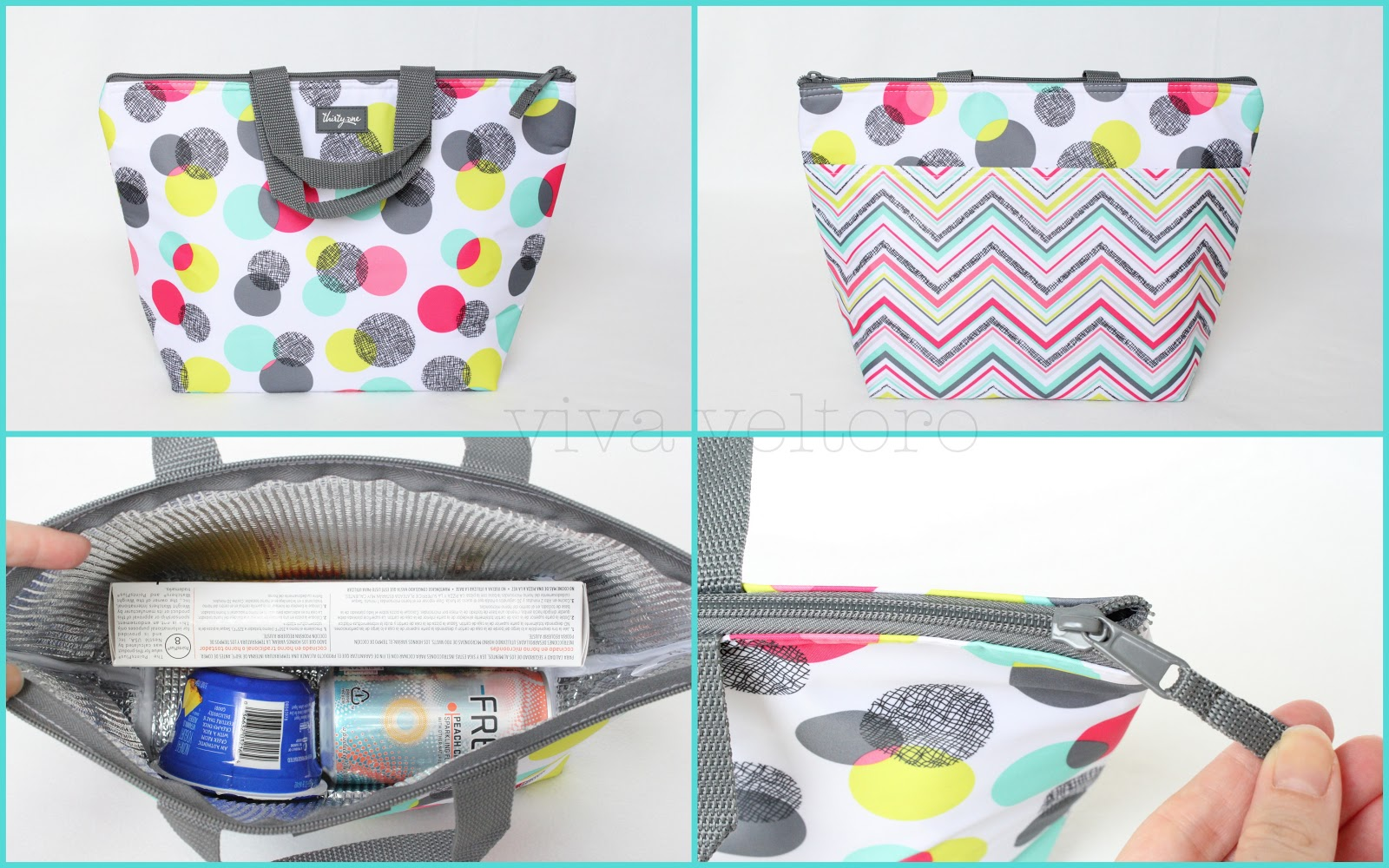 Thirty One Gifts Organizing Utility Tote And Thermal Review Viva Veltoro