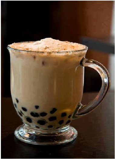 Resep Minuman Bubble Milk Tea with Peanut
