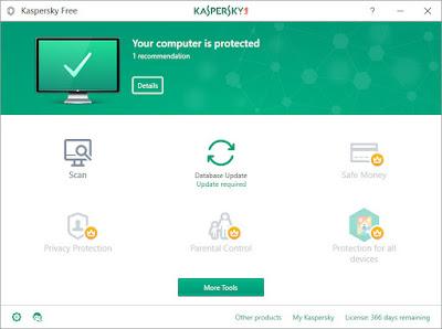 Kaspersky Free Terbaru