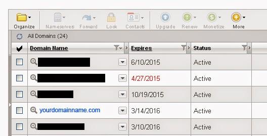 Domain Listing
