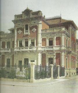 villa crispi venti XX settembre milano