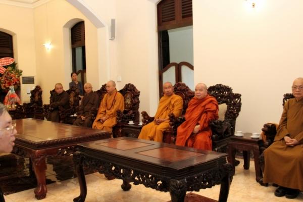 Thành hội Phật giáo chúc mừng Giáng sinh tới tổng giáo phận Sài gòn - Ảnh minh hoạ 7