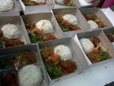 Paket nasi kotak murah dan lengkap
