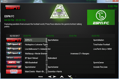 more sports tv channels are live in Echo TV guide