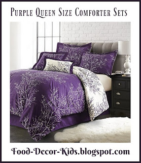 Purple Queen Size Bedding