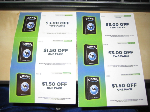 picture about Printable Cigarette Coupons called Printable camel discount coupons cigarettes - Las vegas demonstrate promotions 2018