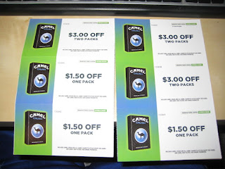 Camel Cigarettes Coupons