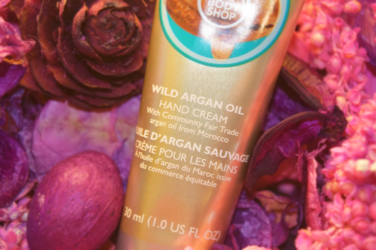 The Body Shop Wild Agran Oil Hand Cream