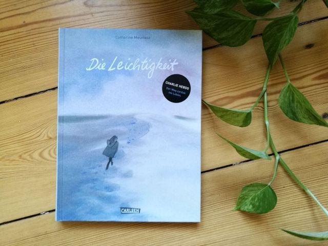 """""""Die Leichtigkeit"""" von Catherine Meurisse. Cover"""