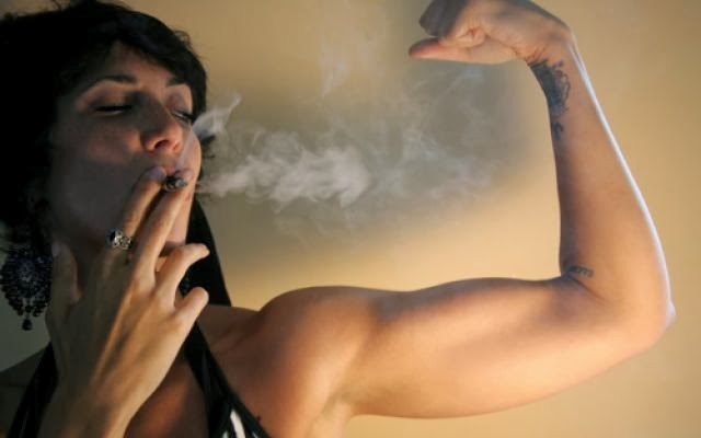 Image result for exercise smoking weed