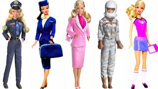 Coleção bonecas de carreira