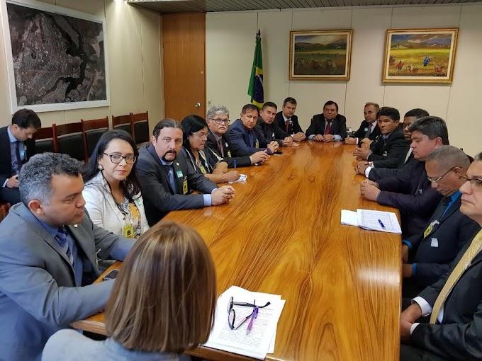 AÇÃO: Jr Verde se reúne com prefeitos do Maranhão em Brasília em busca de recursos