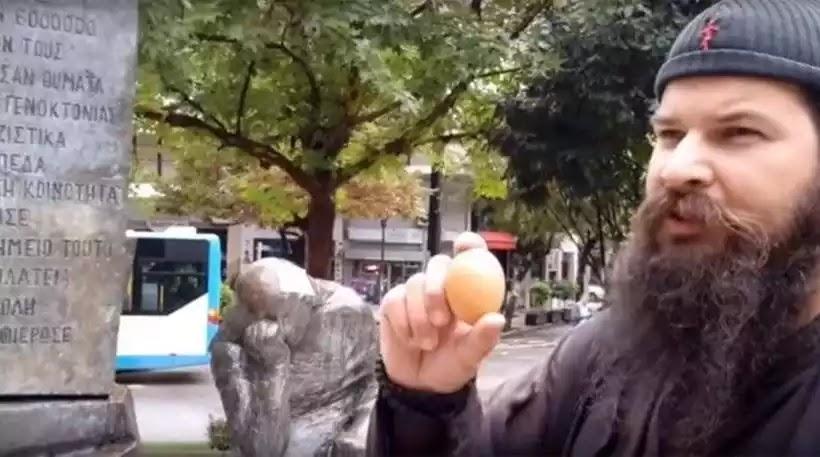 Πανικός! Θύελλα αντιδράσεων απο τους  Εβραίο-σπόρους και ψευτο-Έλληνες για τον βανδαλισμό του μνημείου του Ολοκαυτώματος από τον Κλεομένη Βίντεο