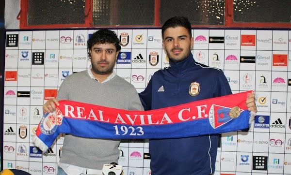 Oficial: Real Ávila, firma Alberto Díaz