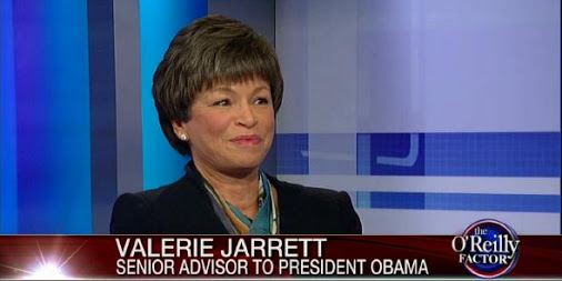 """The Power Behind The Throne"": Jarrett and Obama"