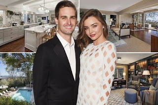 Evan Spiegel and Miranda Kerr mansion