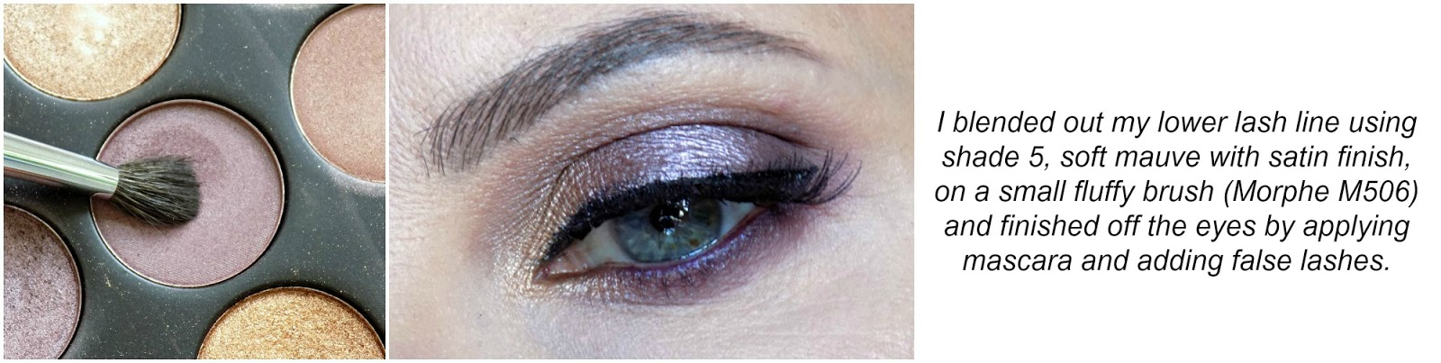 soft mauve eye look tutorial feat. Morphe Brushes 35T palette