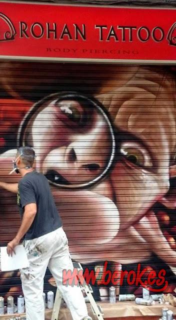 graffiti de Smeagol