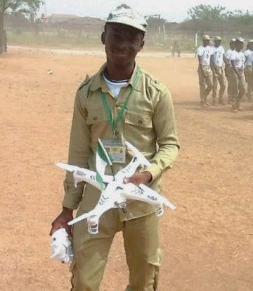 nysc corper built drones