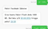 Trik Error Paket Telkomsel Terbaru / E99 Edisi Paket FB A7x Terbaru April 2016
