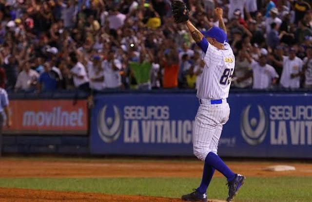 Es la cuarta vez consecutiva que el cubano gana el galardón para el mejor relevista de la Liga Venezolana de Béisbol Profesional