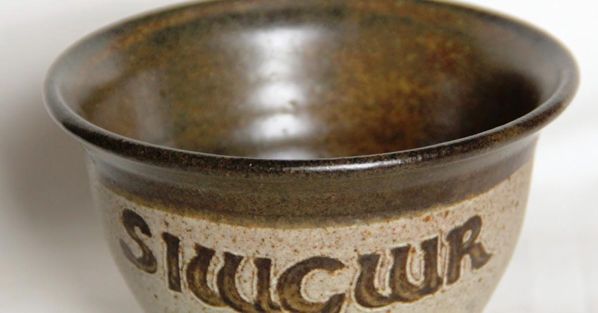Curio Gifts: Vintage Welsh Language Sugar Bowl - Tregaron ...