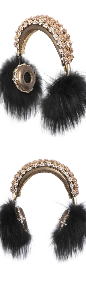 DOLCE & GABBANA Friends Embellished Headphones