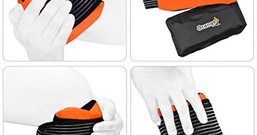 Premium Gel Hot and Cold Pack Review #Orange Physio