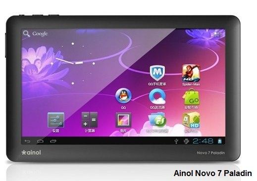 Ainol Novo 7 Paladin tablet