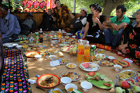 Tajikistan, Pamir, Pish village, Savsangul homme, Wedding meal, topchan, © L. Gigout, 2012
