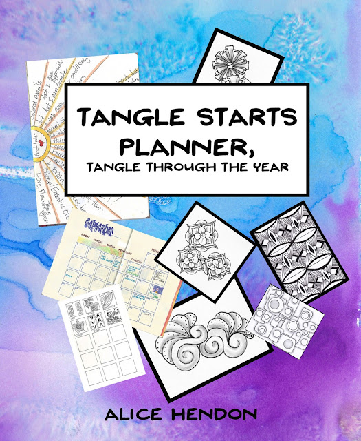 the cover of my book Tangle Starts Planner available on Amazon.com