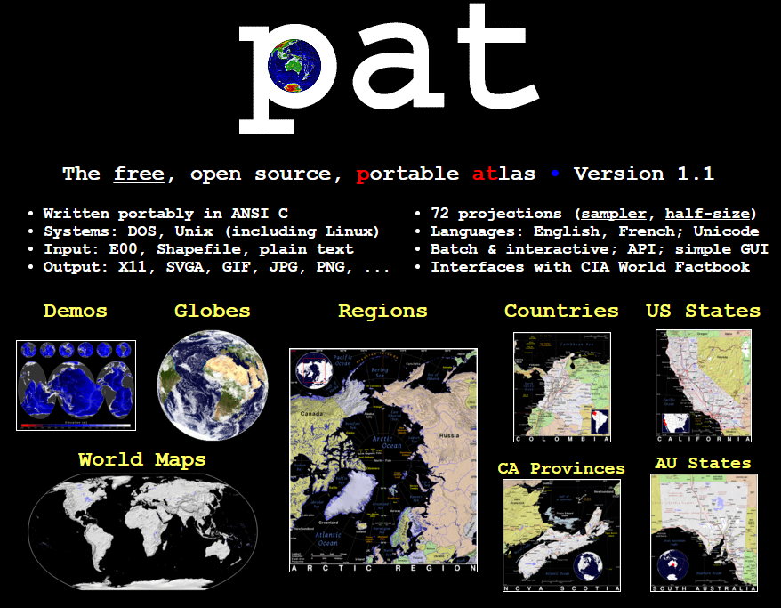 Free technology for teachers pat free open source portable atlas the collection also includes maps of us states maps of canadian provinces australian states and regional maps you can download any and all of these gumiabroncs Images