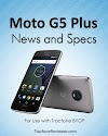 Moto G5 Plus with Tracfone BYOP - Specs and Info