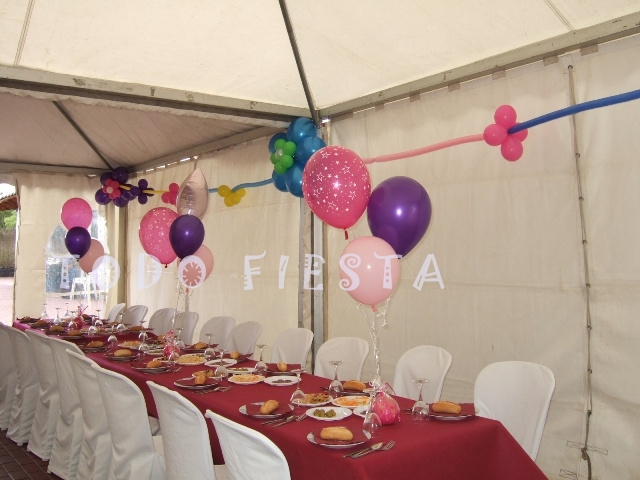 Decoraci n con globos de todo fiesta decoraciones para for Todo casa decoracion