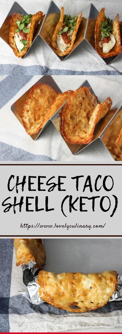 CHEESE TACO SHELL (KETO) #ketorecipe #healthydiet