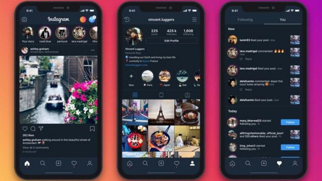 Cara Mengaktifkan Dark Mode Pada Instagram dan WhatsApp
