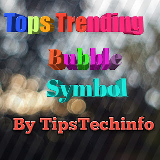 Tops-trending-bubble-symbol