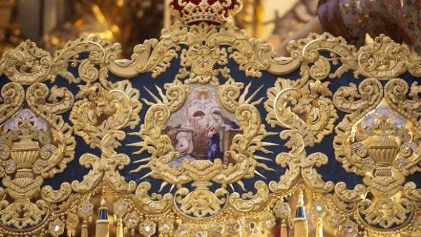 Los nuevos bordados de los palios de Córdoba que llegarán en la Semana Santa del 2019