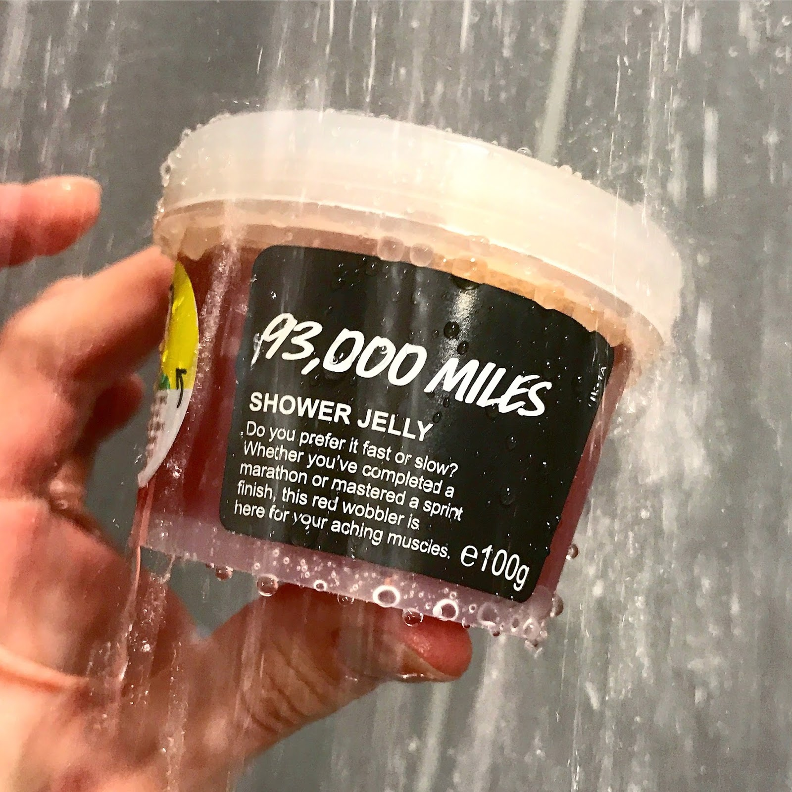 All Things Lush UK: 93000 Miles Shower Jelly