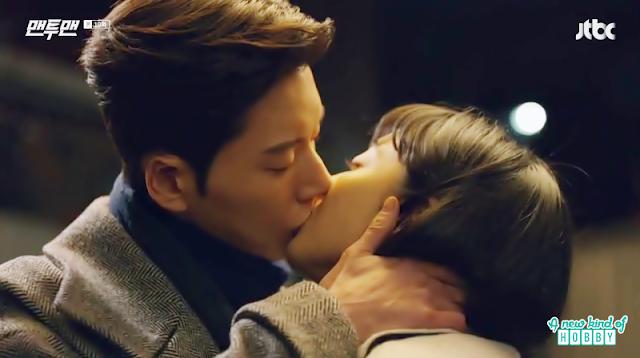 seol woo kiss do ha - most romantic kiss - Man To Man: Episode 10 korean drama
