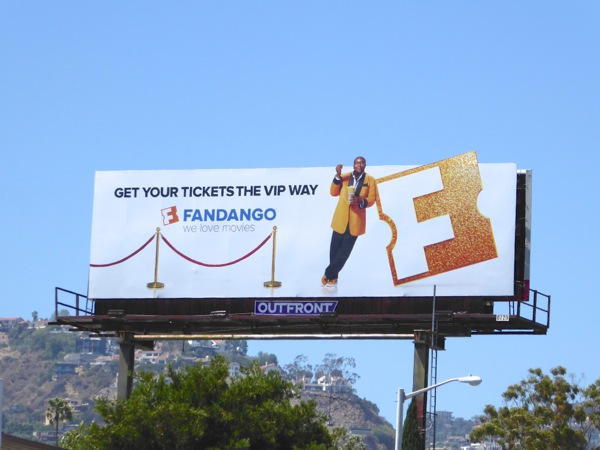 Fandango Get tickets VIP way billboard