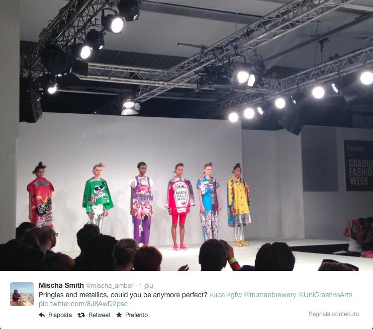 Graduate Fashion Week - Eujean Cha - Crispy chips fashion trend