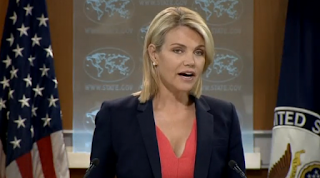 U.S. State Department Spokesperson Heather Nauert