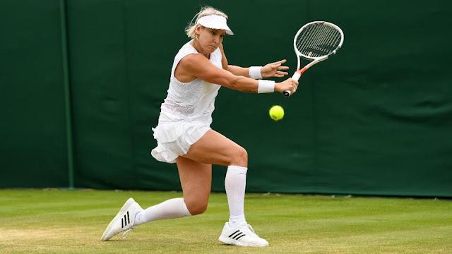 Rintihan Pilu Mattek-Sands Usai Cedera Mengerikan di Wimbledon