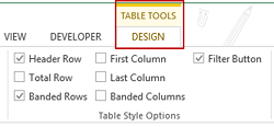 Tutorial mudah membuat tabel di ms excel how to use ms for Table design tab excel