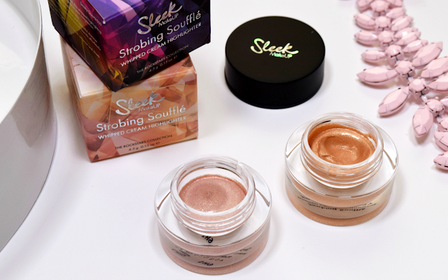 Sleek MakeUP Rockstars Collection Review Strobing Souffle Whipped Cream Highlighter
