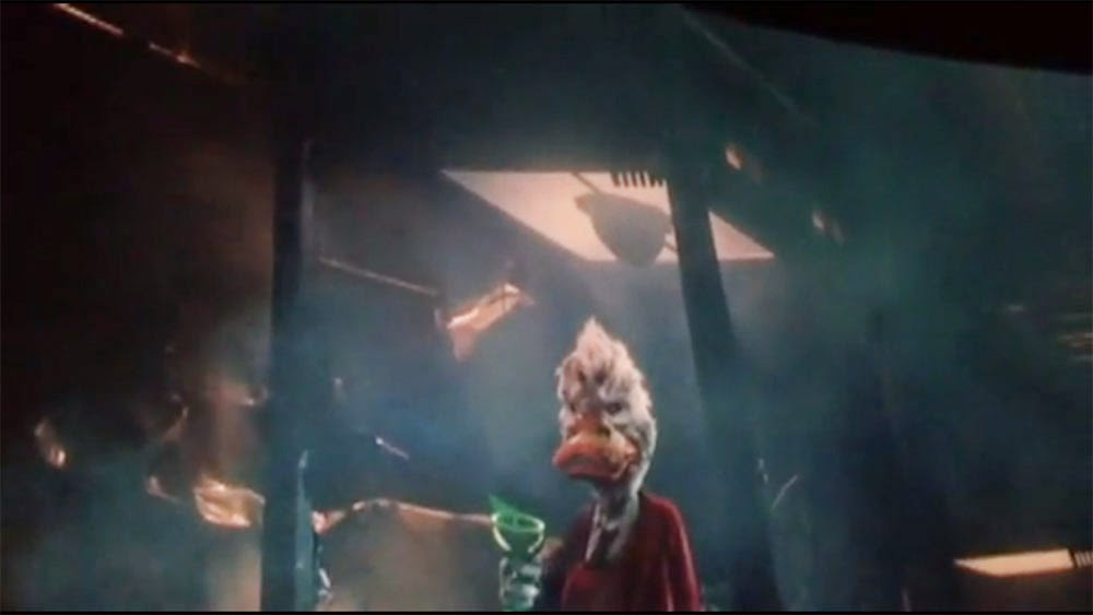 Howard the Duck cameo Guardians of the Galaxy after credits scene