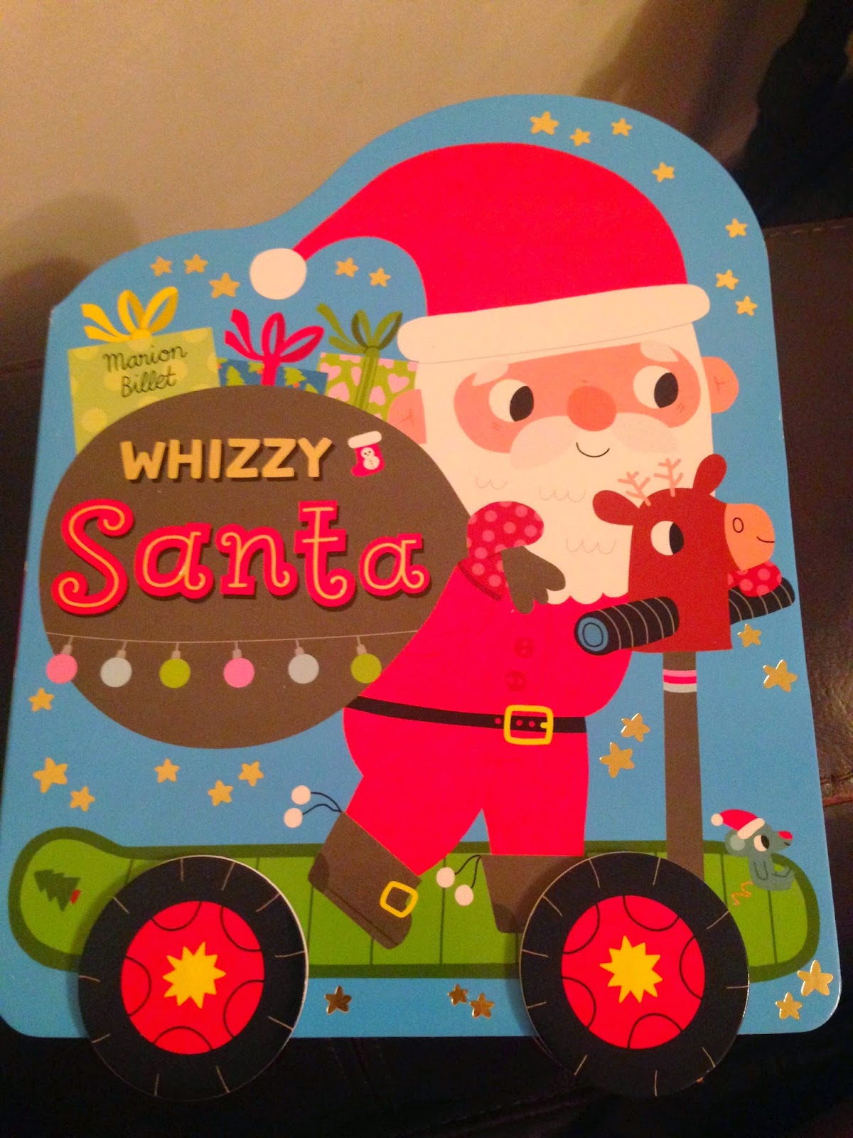 Our Christmas Book Advent tree | Ideas for the Best Children's Books to Buy this Christmas - Whizzy Santa