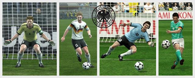 PES 2013 Germany Classic Kits