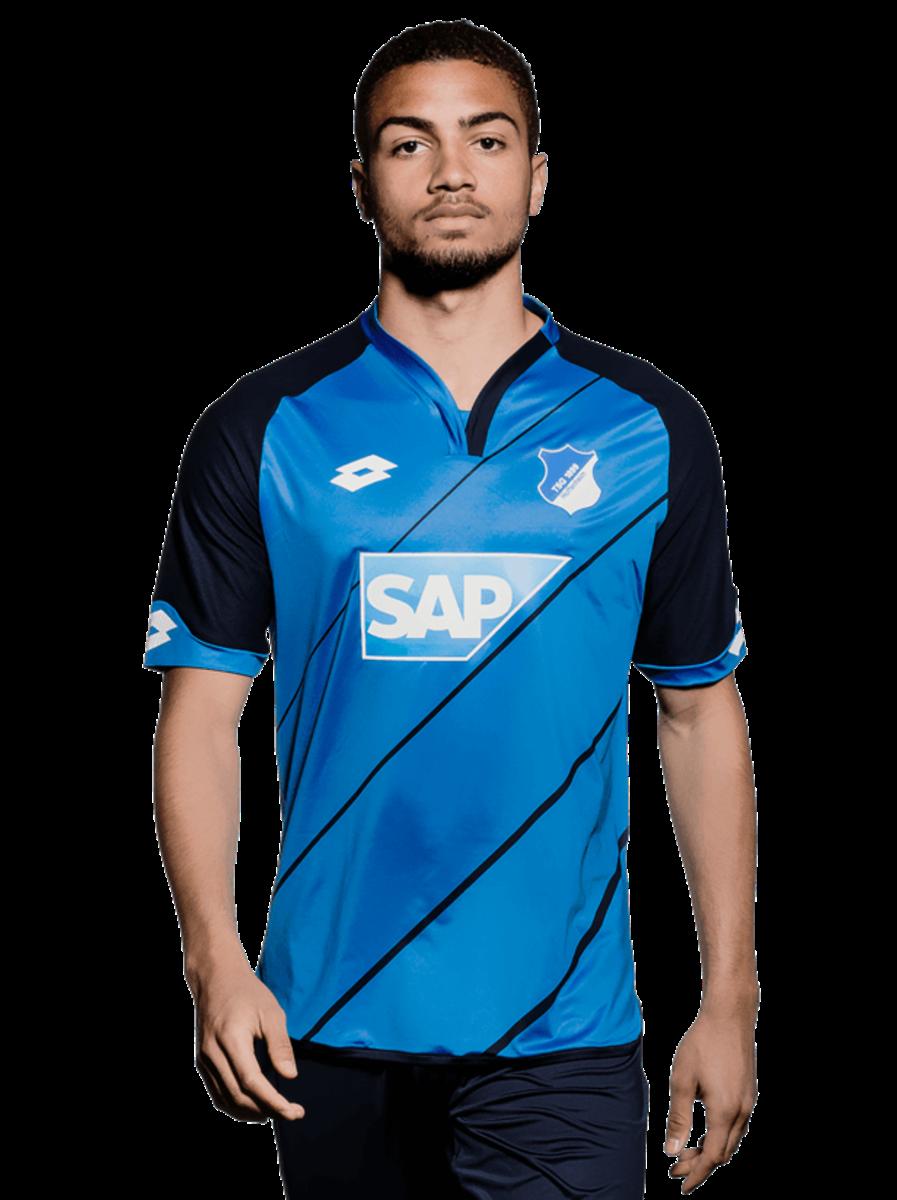 05bfc0da9e O Hoffenheim está de roupa nova para temporada 2016 2017 da Bundesliga. O  modelo azul